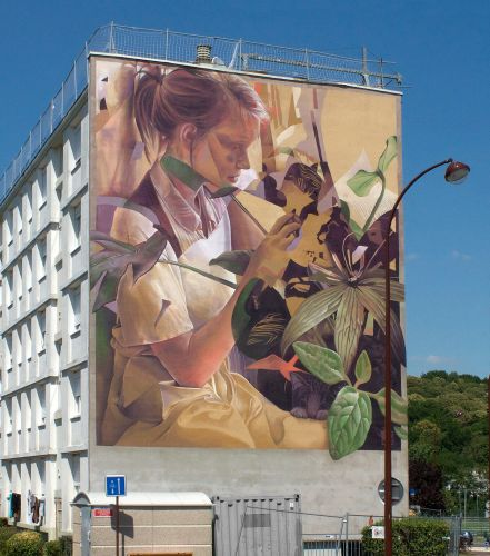 """Martine in the forest"" by Telmo Miel in Versailles, France"