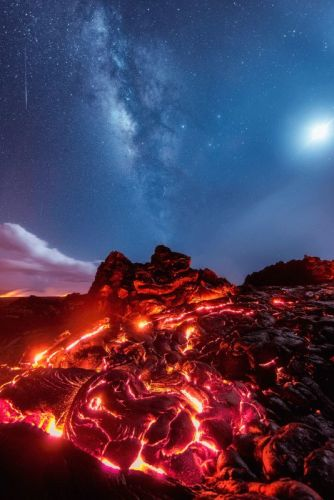 No, I Didn't Fake This Lava Photo