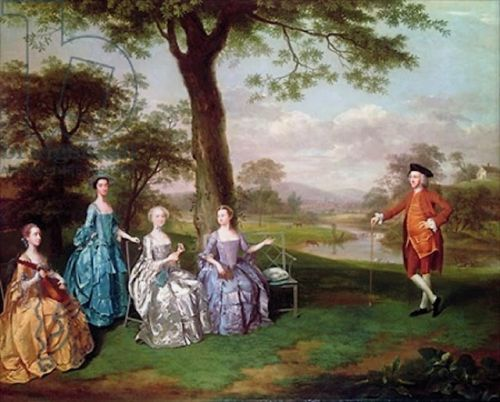 PERSONAL BRANDING in 18C - GARDEN Conversation Pieces