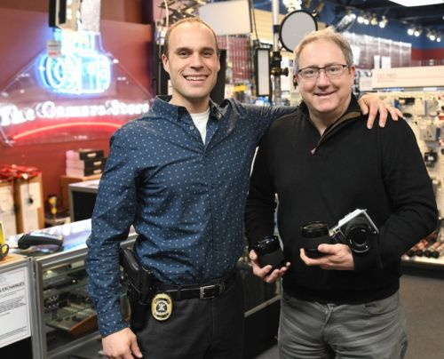 $18,000 Stolen Camera Kit Recovered, Suspects Arrested