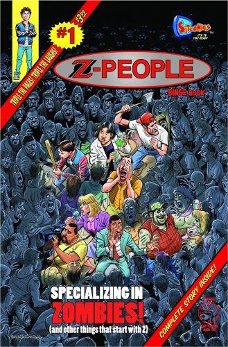 """Sitcomics' """"Z-People"""" Released Today!"""