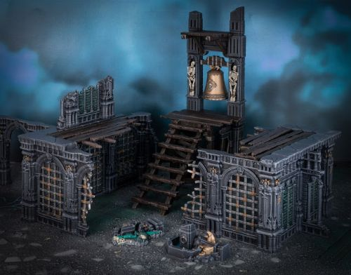 Showcase: Warcry Ruins Azyrite Ruined Chapel