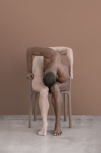Intertwined and Contorted Figures Form Surreal New Portraits by Brooke DiDonato