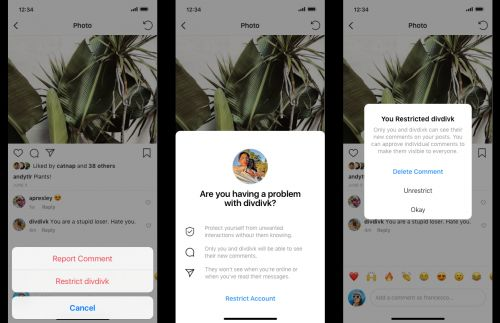 Instagram's New Anti-Bullying Tools Let You Shadow Ban Rude Followers