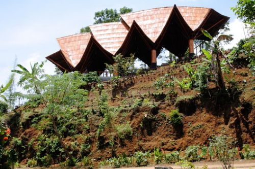 Chicken Comb Amphitheater / Architecture Sans Frontières Indonesia