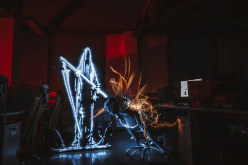 Behind the Scenes: Shooting Creative Light Painting Photos for Halloween