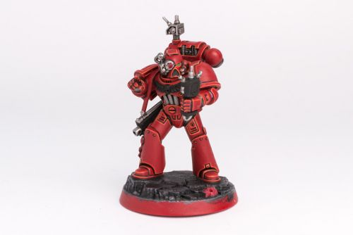 WIP: Blood Angels Space Marine Heroes Brother Dolor