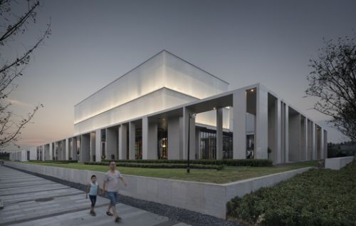 Cultural Center of Beicheng Central Park in Hefei / Shenzhen Huahui Design