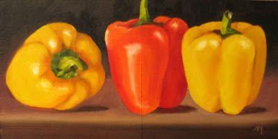 Three Peppers Diptych