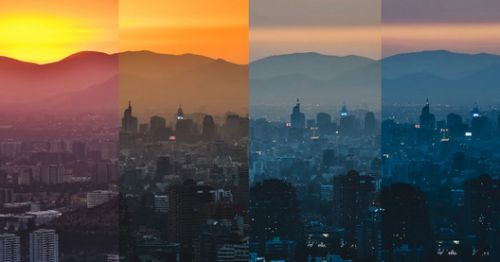 Astoundingly Colorful Chilean Sunset Captured In Timelapse Photo Series