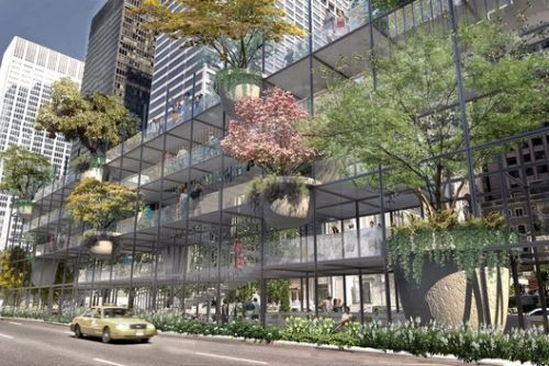 Studio JCW Proposes Big Shelf for Park Avenue