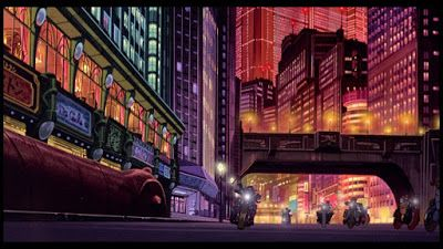 Painting the backgrounds of Akira