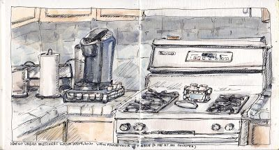 Draw What You See From Your Kitchen Table with USK San Diego