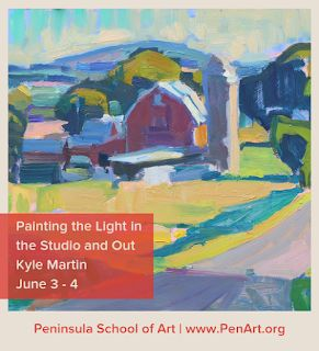 Peninsula School of Art Workshops!