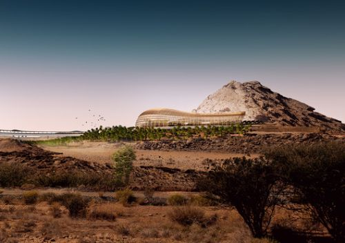 First Images of What is Set to Become the Largest Botanic Garden in the World Revealed
