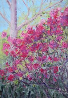 Azalea's Dream, New Contemporary Landscape Painting by Sheri Jones