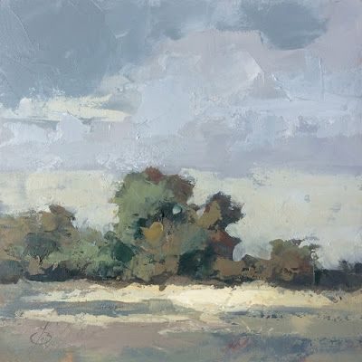 PLEIN AIR LANDSCAPE by TOM BROWN
