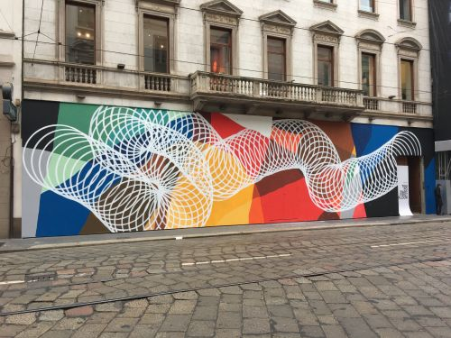 Moneyless unveils a new piece in Milan, Italy