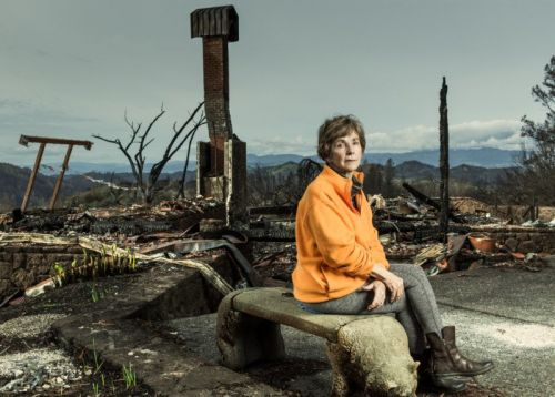 Shooting Portraits of Sonoma County Wildfire Victims