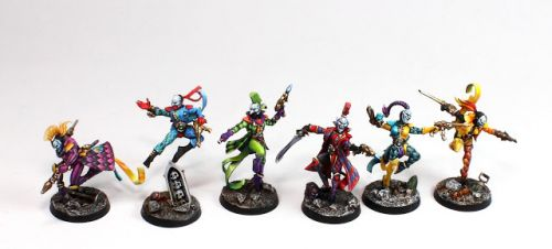 Showcase: Aeldari Harlequins Troupe