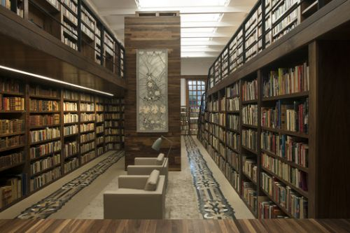 Carlos Monsiváis Personal Library / JSª Arquitectura