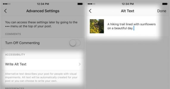 Instagram Launches AI Descriptions of Photos for the Visually Impaired