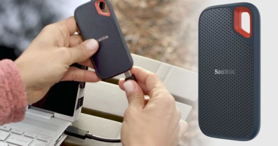 SanDisk Extreme Portable SSD is a Tiny and Tough Drive for Outdoor Photogs