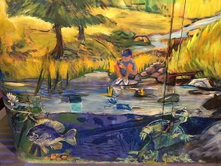 ECHO - Leahy Center for Lake Champlain, Burlington VT Champ Lane Discovery Room by Candy Barr