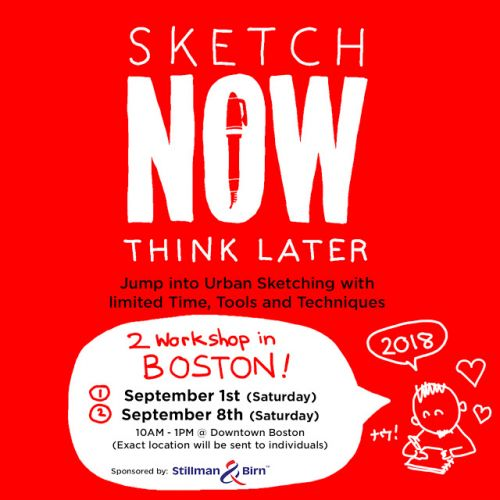 Workshop: Sketch Now Think Later