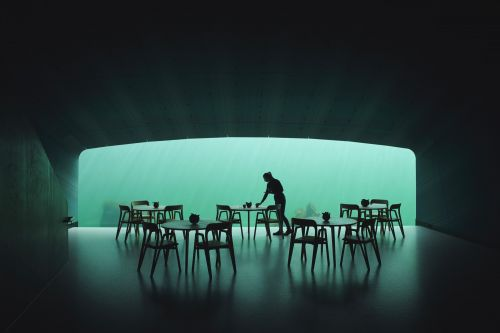 Europe's First Underwater Restaurant Doubles as a Marine Research Center