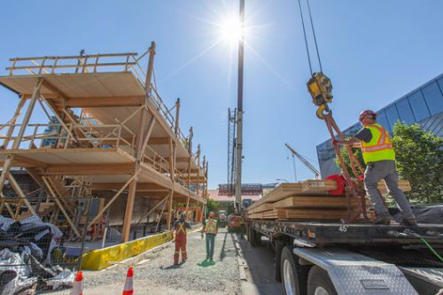 There is Life After Demolition: Mass Timber, Circularity and Designing for Deconstruction