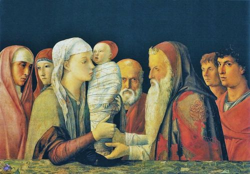 Morning Madonna - The Presentation of Jesus at the Temple in early paintings