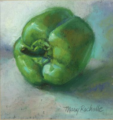Pastel Green Pepper