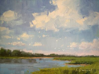 Creating Depth in a Painting - 5 TIPS!