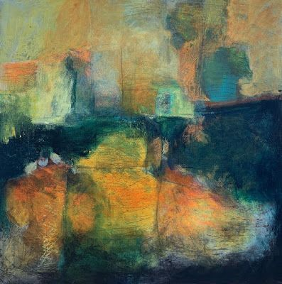 """Contemporary Art, Abstract Painting, Modern Art """"ALTOGETHER SEPARATE"""" by Portland Contemporary Artist Liz Thoresen"""