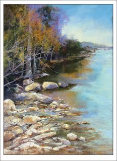 Just Turning..Pastel.. Texas Artist..Rae Andrews