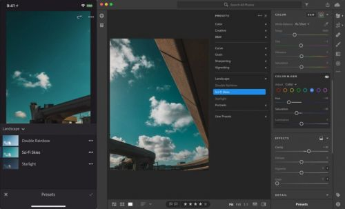 Adobe Lightroom Update Adds Preset and Profile Sync and More