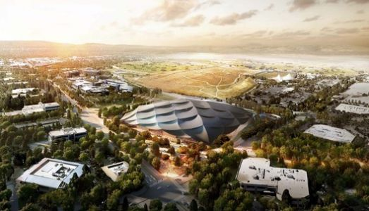 Google Reveals Revised Mountain View Campus Plan by BIG and Heatherwick Studio