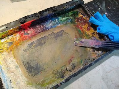 Should I Clean my Oil Palette?