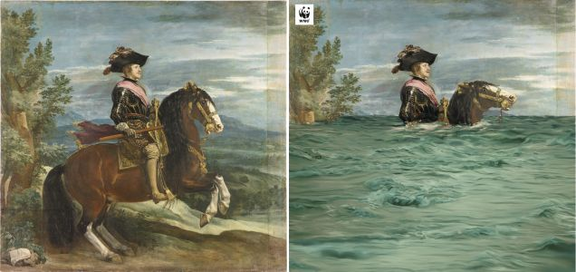 Paintings From Prado Museum Collection Given Climate Change Makeovers