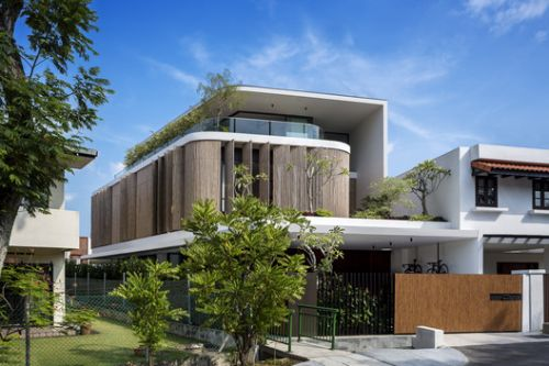 Bamboo Veil House / Wallflower Architecture + Design