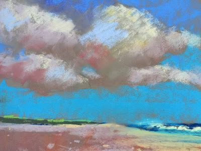 """Coastline,"" Beach and Ocean, Amy Whitehouse"