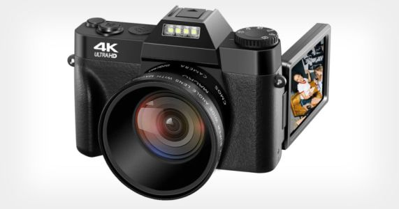 This 48MP 4K Camera Costs $110 and is NOT for Pro Photographers