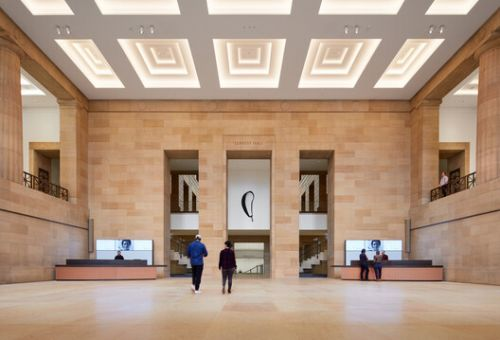 Philadelphia Museum Opens after Extensive Renovation Project led by Frank Gehry