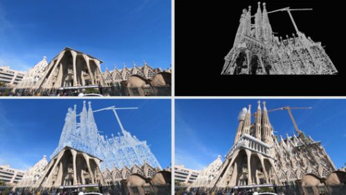 Explore a Reimagined Barcelona Through Actual Forms and Illusions