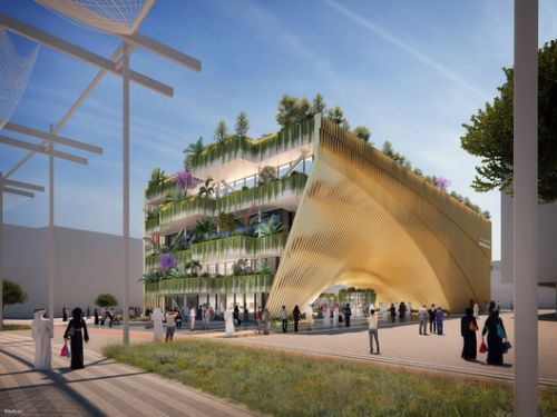 The Belgian Pavilion at the 2020 Dubai Expo Displays the Country's 2050 Mobility Vision