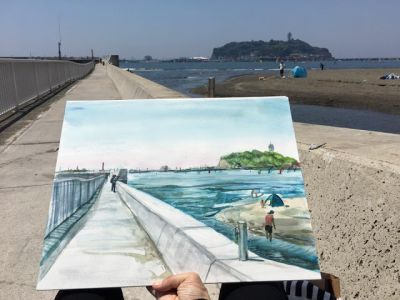 When you come to Japan, how about visiting Enoshima?