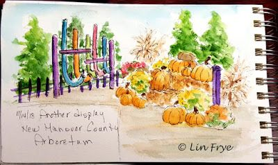 Journal - Urban Sketchers - Cape Fear Sketchers - New Hanover Arboretum