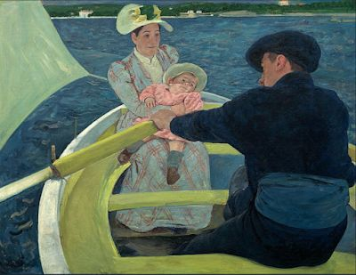 Mary Cassatt. Born on this day in 1844