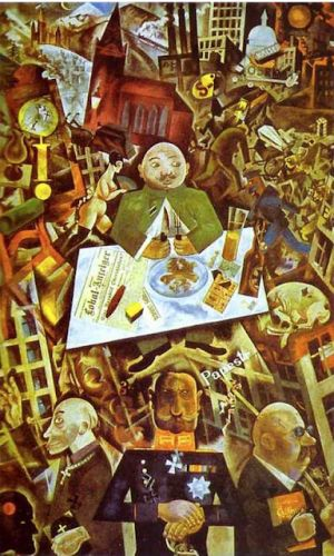 George Grosz. Born on this day in 1893